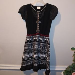 EUC Hanna Andersson Nordic Style Sweater Dress